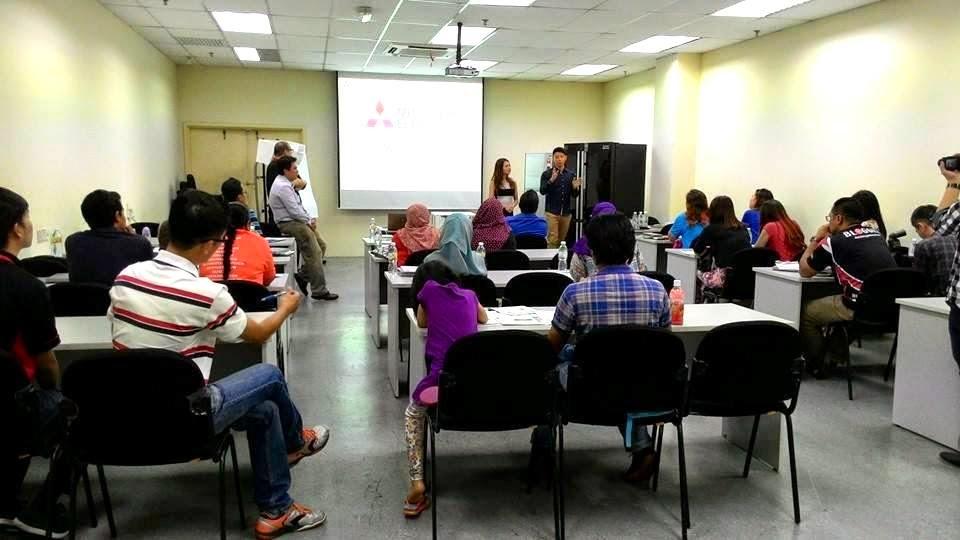 Mitsubishi Electric seminar for bloggers