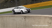 YouTuber Cvdzijden caught a modified Audi RS4 dramatically blowing its .