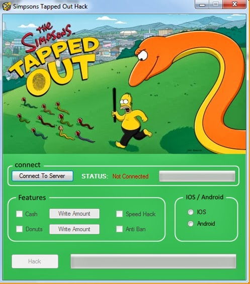 the simpsons tapped out donut hack download no survey