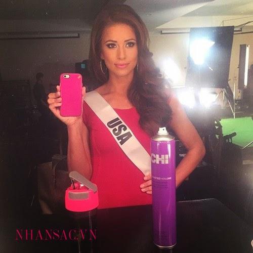 Hoa hậu Hoàn vũ 2015: các thí sinh nóng bỏng với bikin