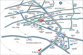 Avida Towers New Manila Location Map