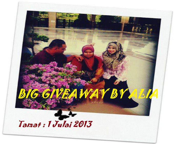 Big Giveaway by Alia Ali Ahmad