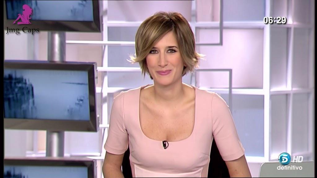 ANE IBARZABAL, INFORMATIVOS TELECINCO (12.01.15)