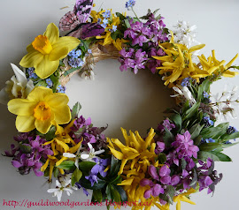new spring wreath - Frhlingskranz