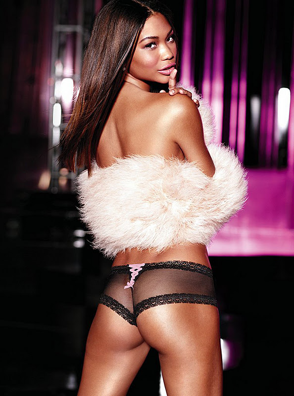 Chanel Iman – Victoria's Secret Lingerie Photoshoot