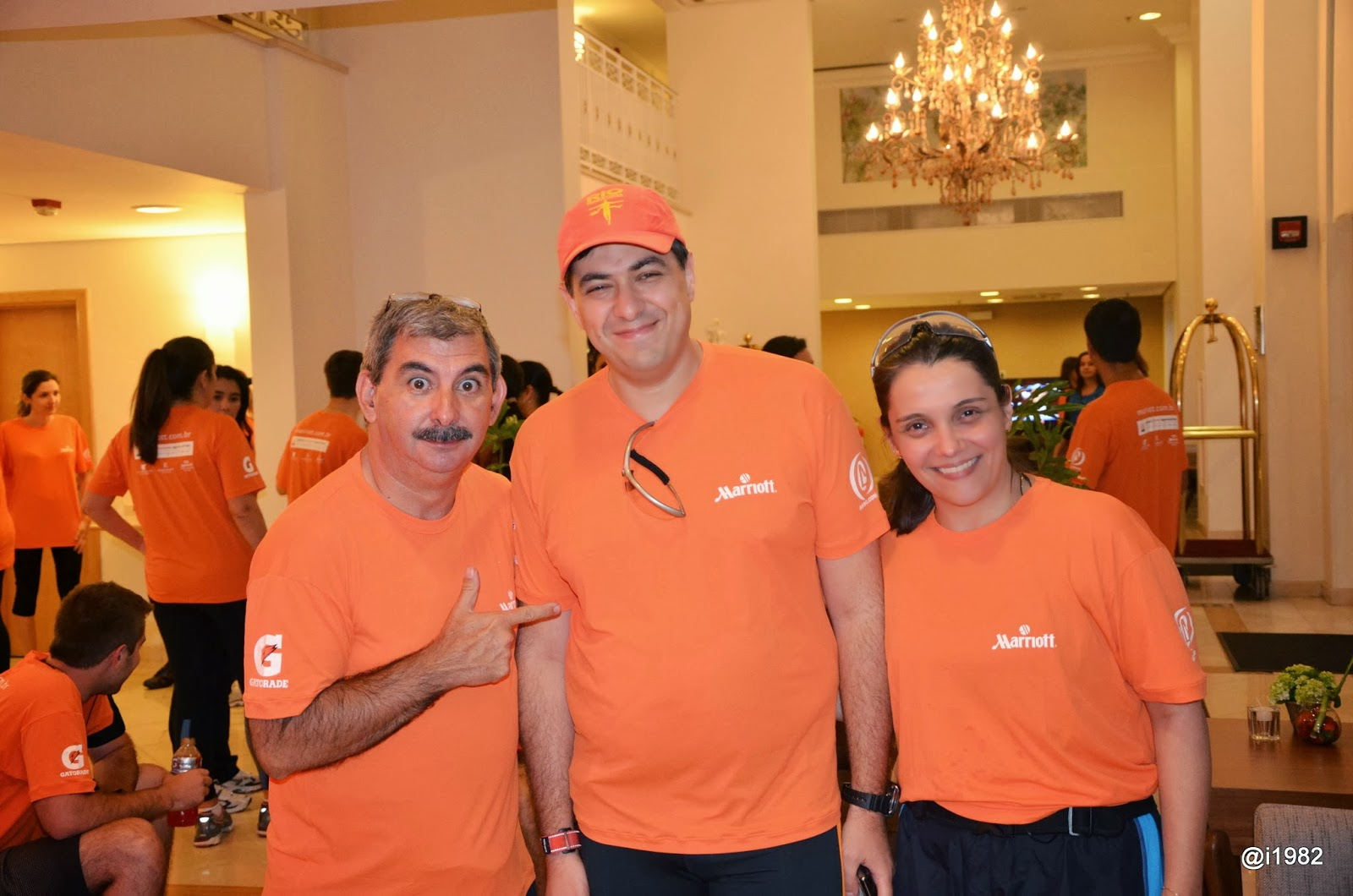 Global Customer Appreciation Week 2013 - Caminhada e Corrida GCAW 2013 - Marriott Hotels
