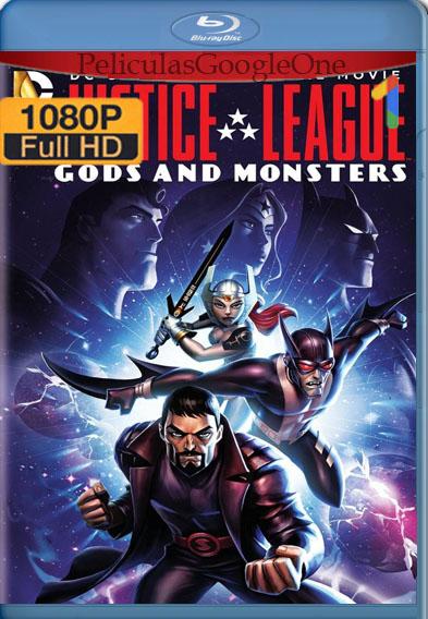 Liga de la Justicia: Dioses y Monstruos (2015) BRRip [1080p] [Latino] [GoogleDirve]