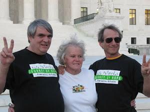 Bll Pelke, Marietta Jaeger-Lane and Rick Halperin