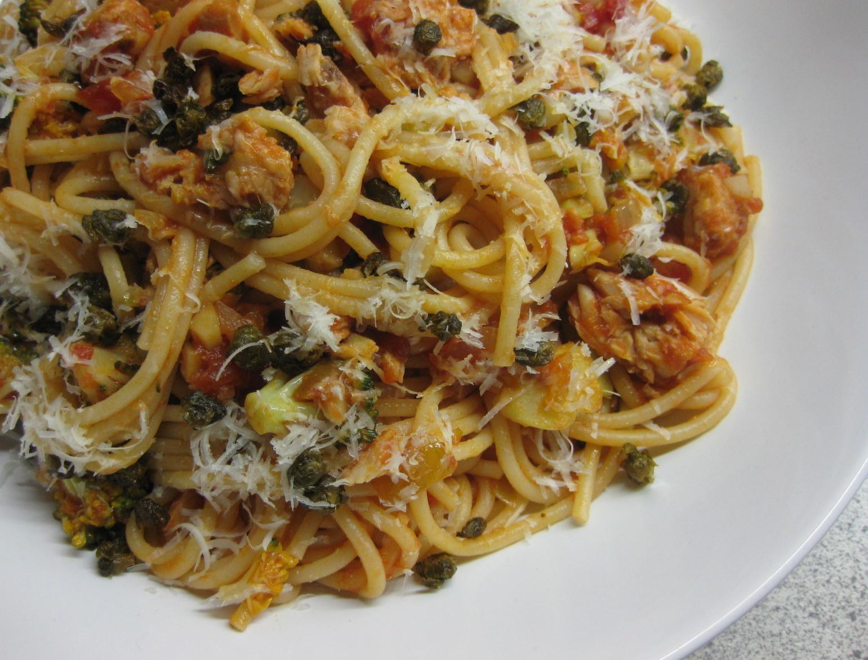pasta med tunsauce