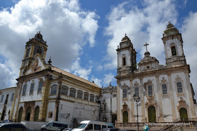Historia de Salvador - Igrejas do Carmo - ordem 1a e 3a