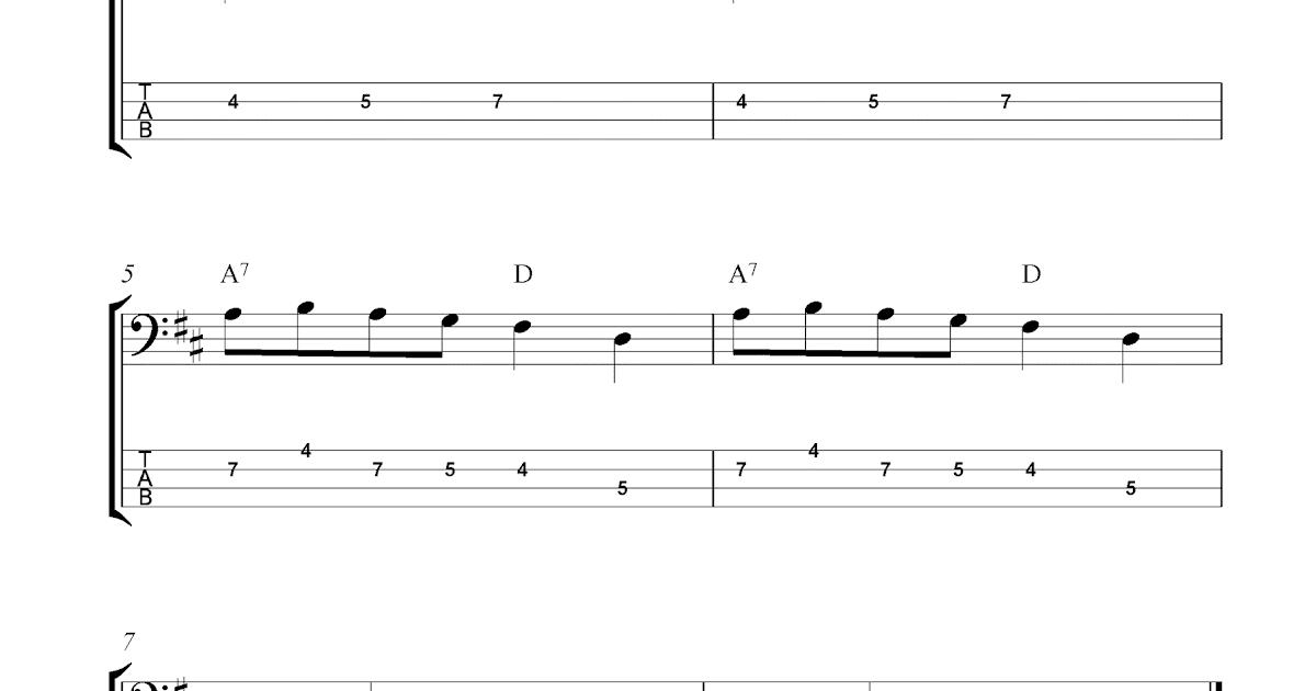 bass guitar tabs pdf free download
