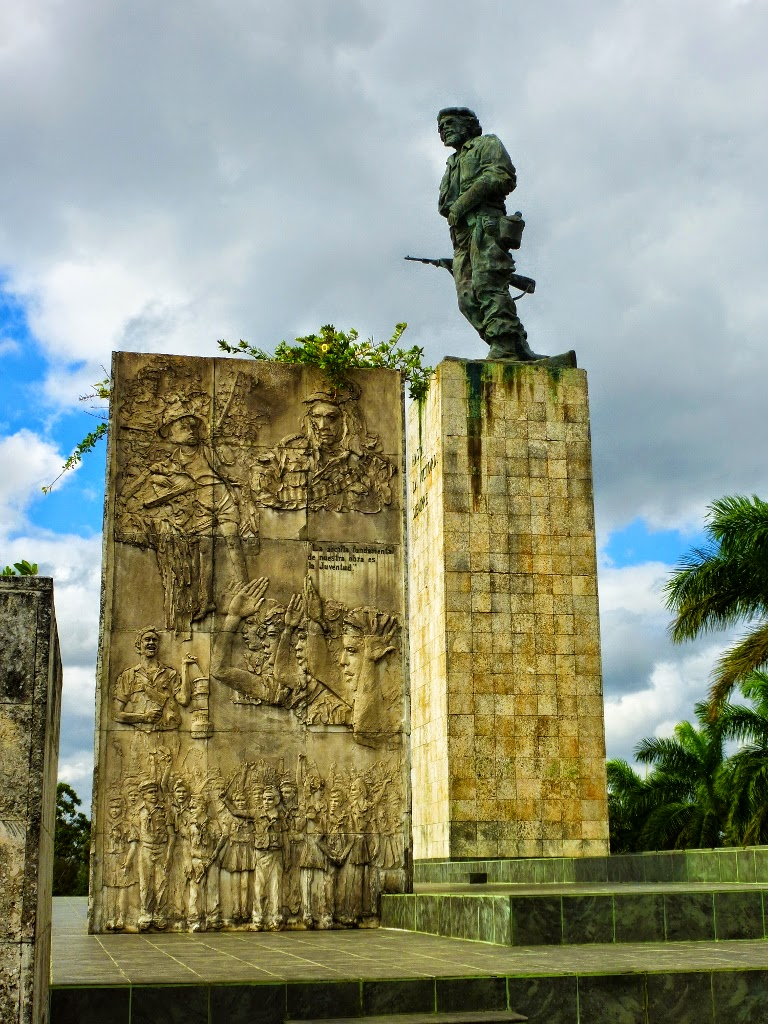 travel the caribbean blog travel photo essay pt  a 22 ft statue overlooks the main square and his remains are contained in a mausoleum there are also several museums in the city which document his life
