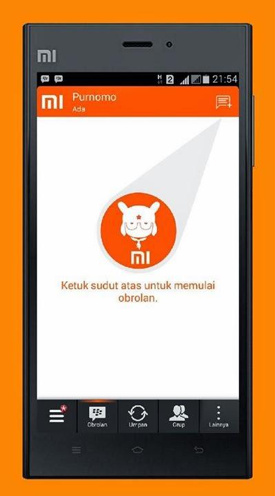 BBM Mod MIUI 2.7.0.23
