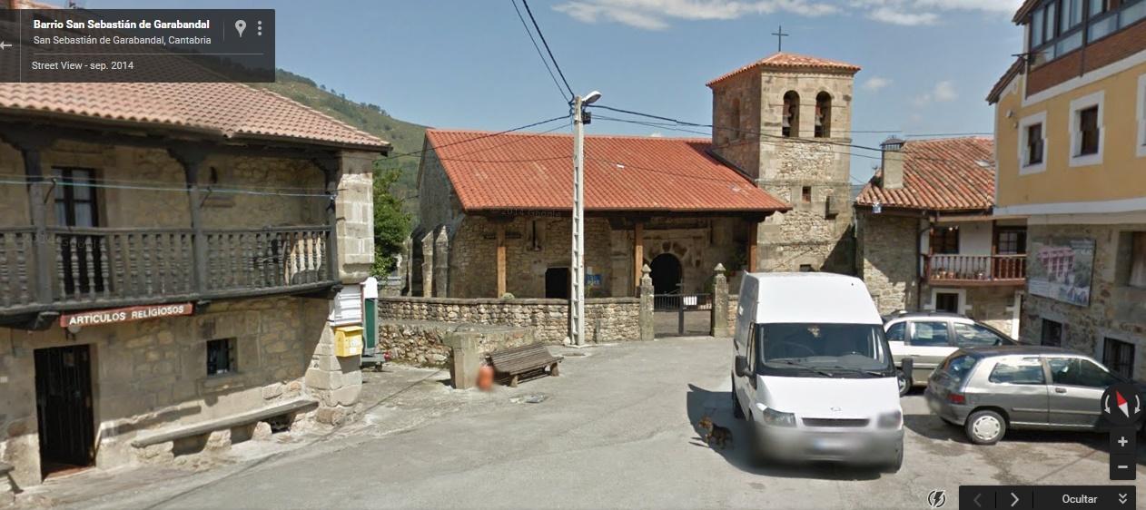 Visita el pueblo de Garabandal desde Google maps