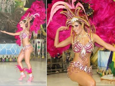 Fotos musas do Carnaval 2011 - São Paulo - 1° noite - Cacau