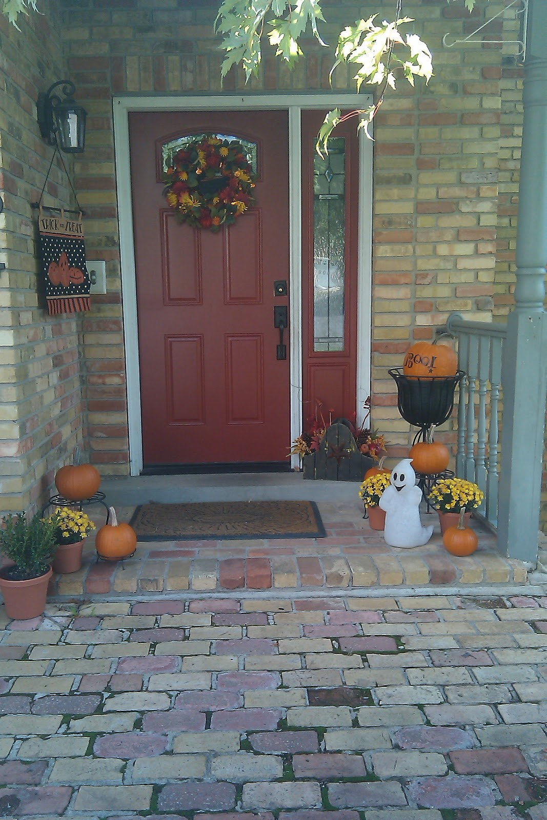 Prepared Lds Family Fall Porch Decorating With Thrift
