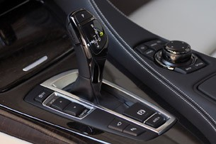 2012 BMW 6 Series Coupe shifter