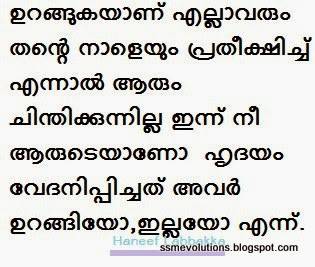 SSM EVOLUTIONS: MALAYALAM LOVE QUOTES