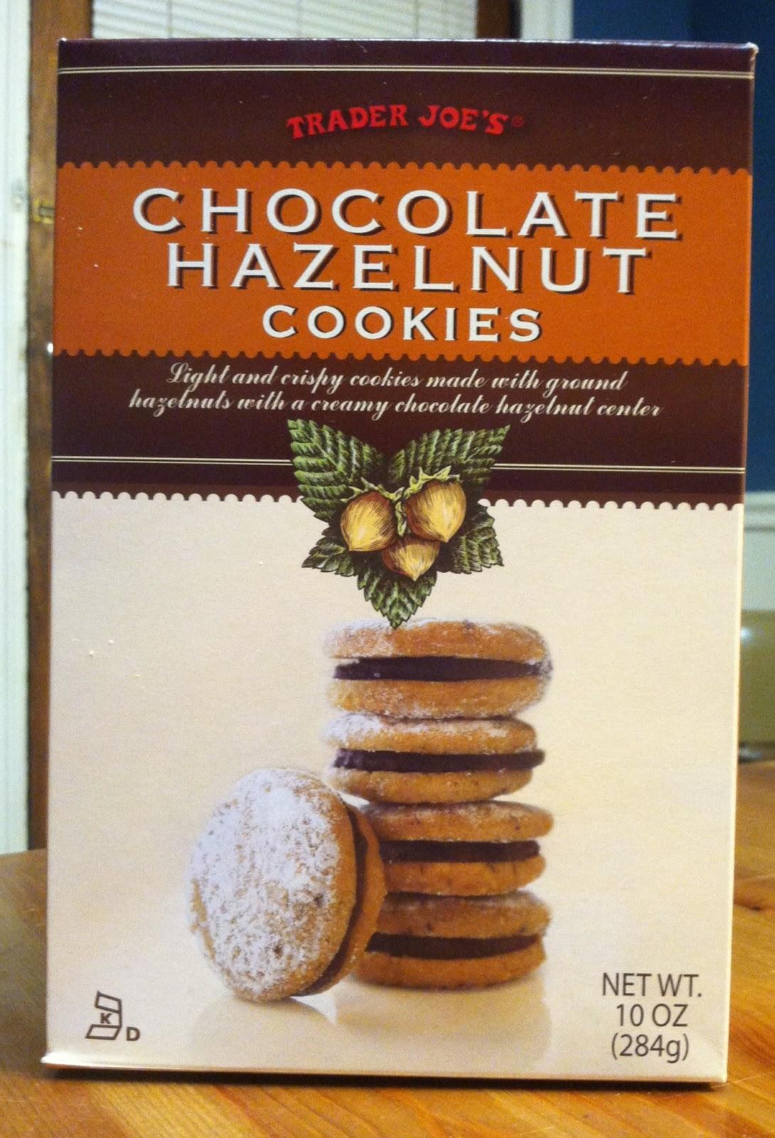 What\'s Good at Trader Joe\'s?: Trader Joe\'s Chocolate Hazelnut Cookies