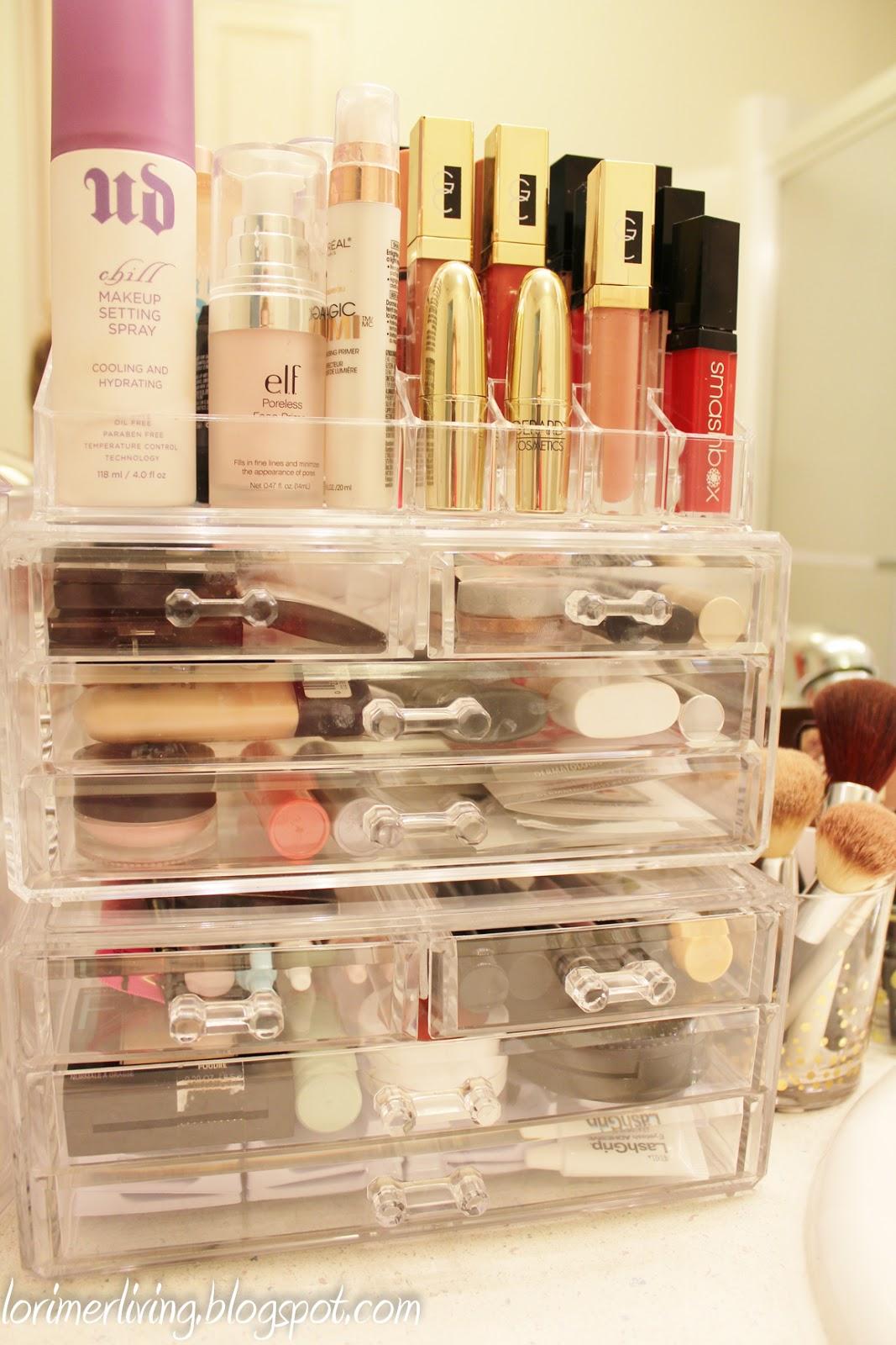 Perfume Organizer 360 Degree Rotating Makeup Organizer