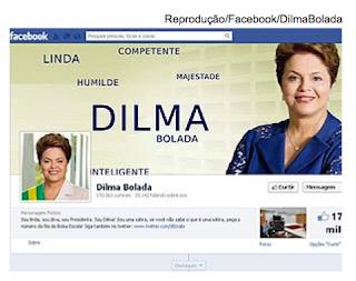 "Censura: Paródia de ""Dilma Bolada"" ameaça 'suicídio digital' após frase apagada pelo Facebook"