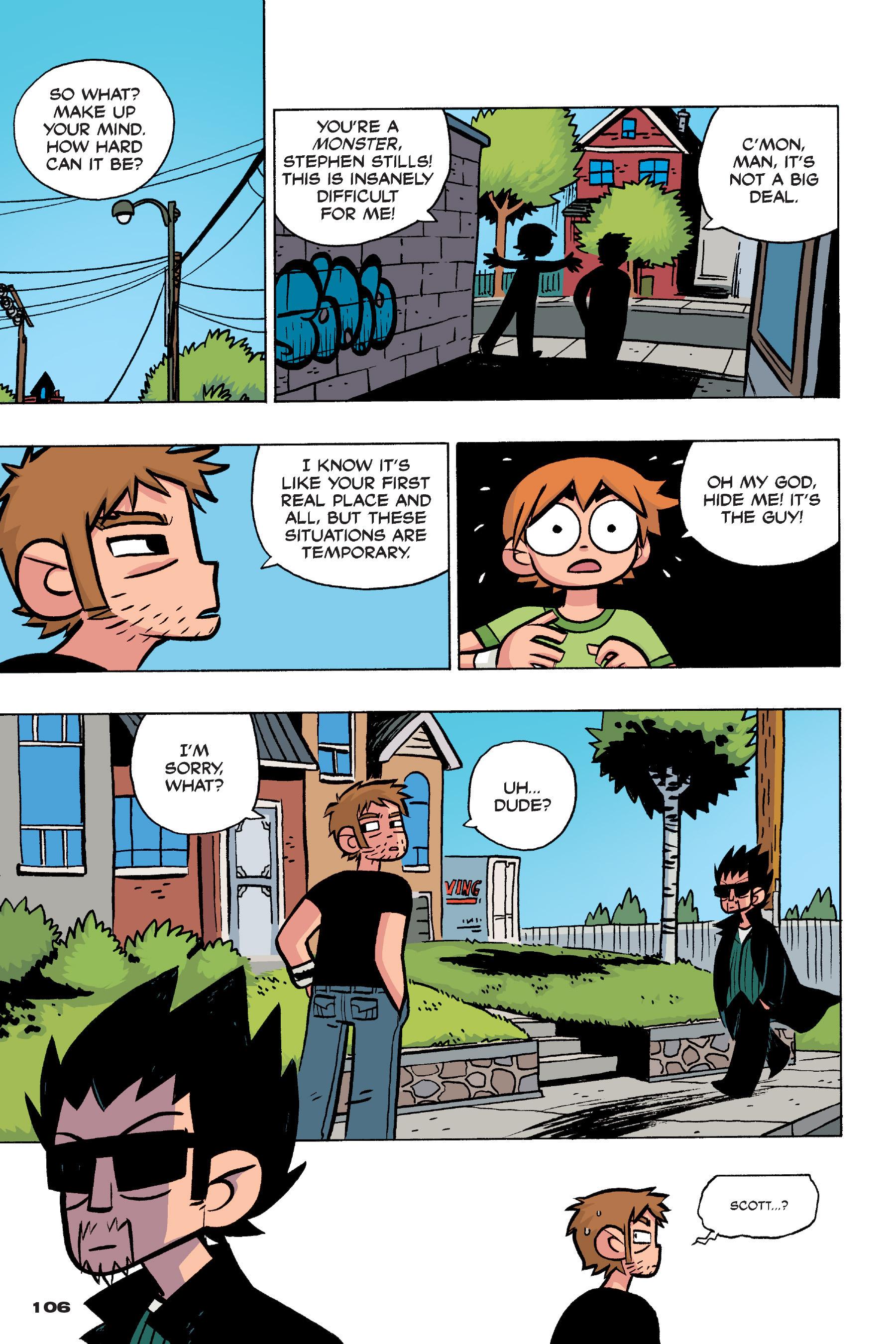 Read online Scott Pilgrim comic -  Issue #4 - 104