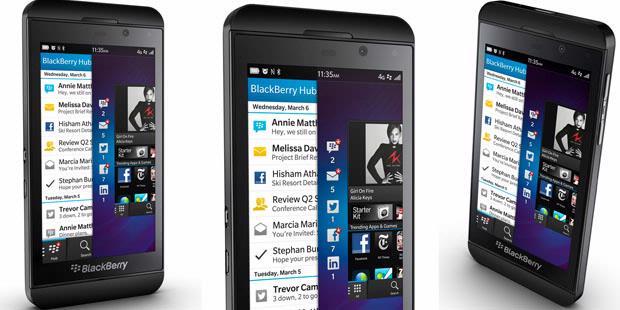 Ini Dia Foto dan Spesifikasi BlackBerry Z10