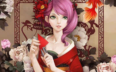 Gambar Wallpaper Anime Jepang Berambut Pink Cantik 900
