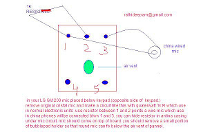 LG GM 200 Mic problem solution