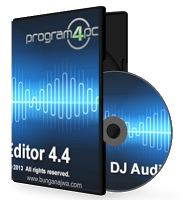 Free Download Program4Pc DJ Audio Editor 4.4 With Patch Full Version