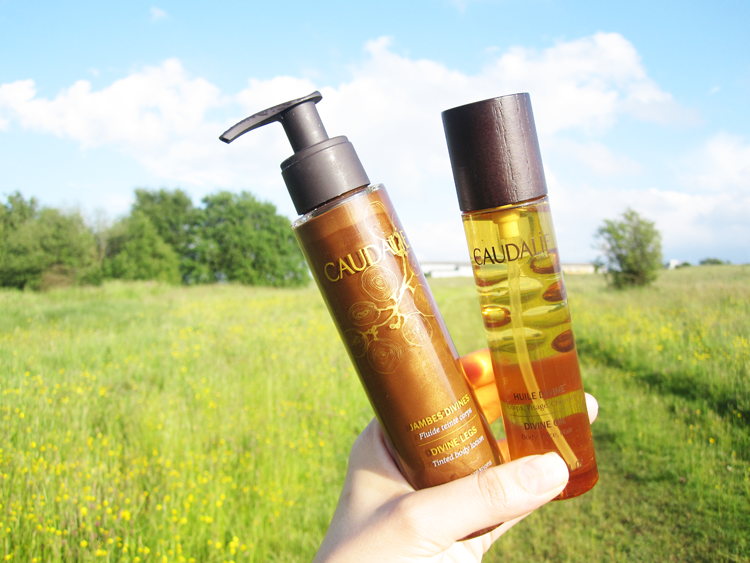 Caudalie Divine Oil & Divine Legs review