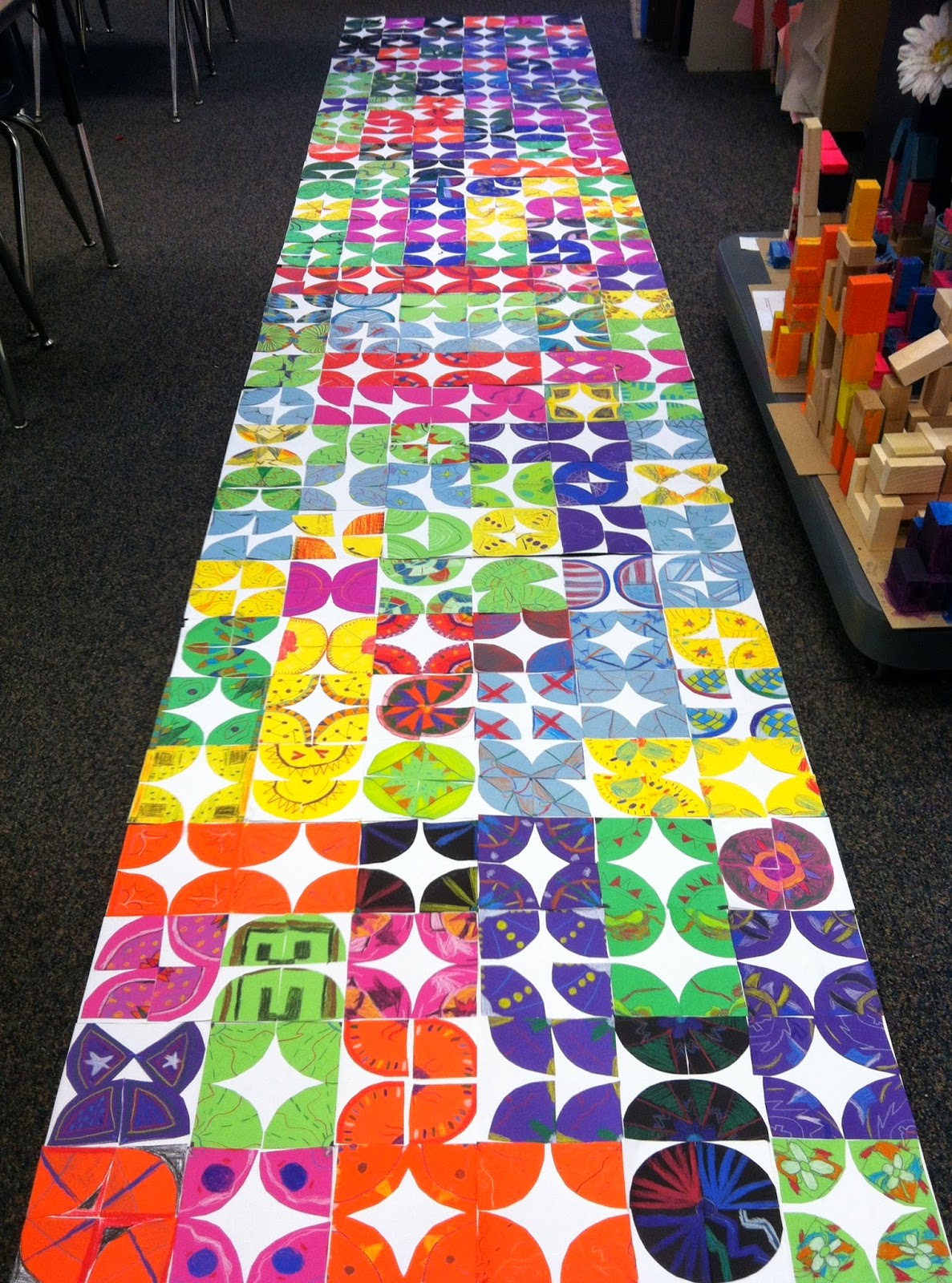 Collaborative Student Projects ~ Shine brite zamorano we ll keep on biggering and
