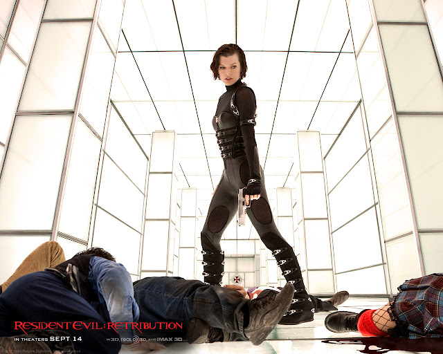 Resident Evil: Retribution PowerPoint background 04