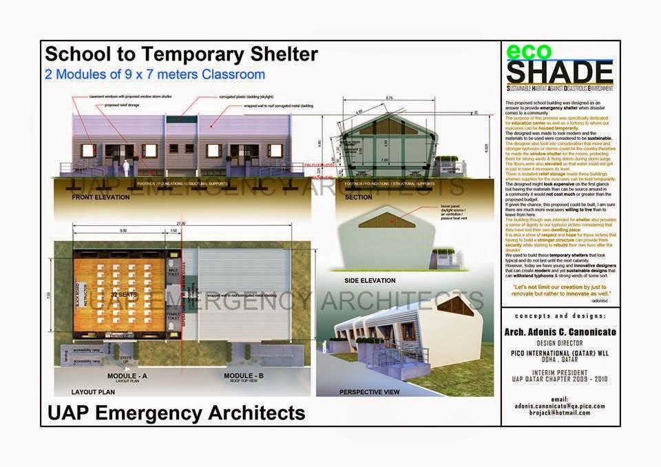 Resilient Schoolbuilding Design 1 UAP Emergency Architects