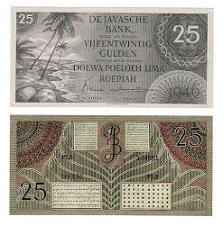 Federal 25 Hijau AUNC lipat halus tengah vertikal 1,6jt (sold)