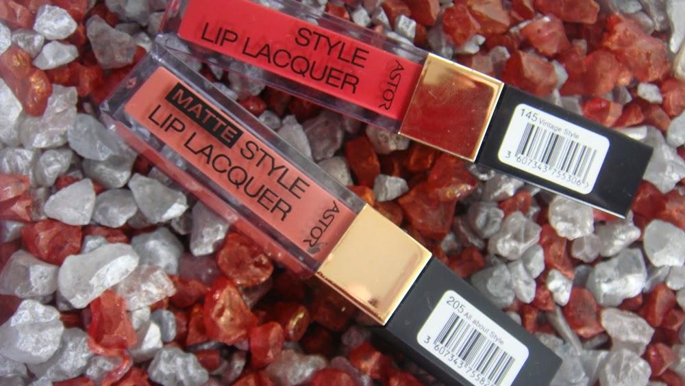 Astor (matte) Style Lip Lacquer.