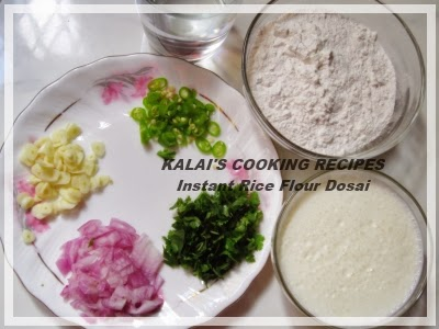 Instant Curd Rice Flour Dosa   திடீர் தயிர் அரிசிமாவு தோசை   Thayir Arisi Maavu Dosai