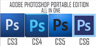 Adobe Photoshop AIO (CS3,CS4,CS5,& CS6) Portable