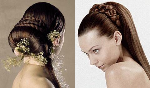 Зачіски на випускний для королеви