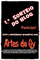 "1.º Sorteio do Blog ""Artes da Gy"""