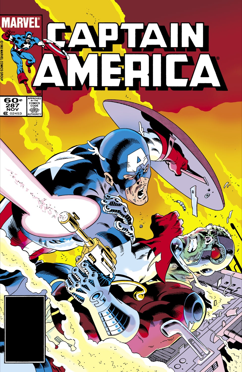 Captain America (1968) Issue #287 #203 - English 1