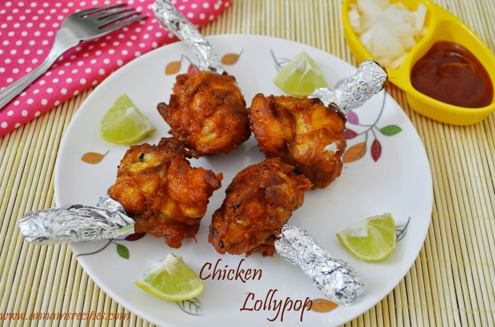 Chicken Lollipop | Annam's Recipes