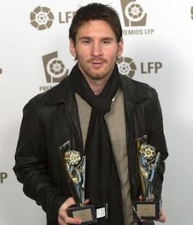 Barcelona el más ganador en los premios LFP 2011