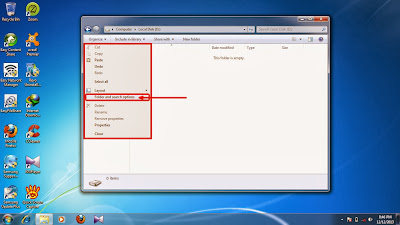 How to show hidden folder and files in windows 7 step7