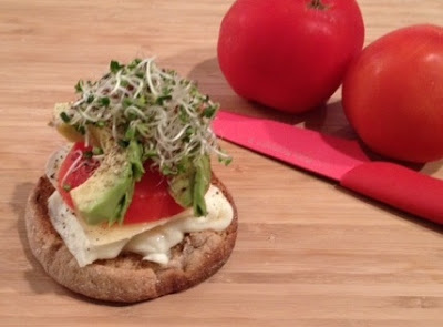 dr. oz breakfast egg sandwich