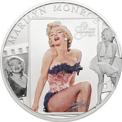 Marilyn Monroe coin