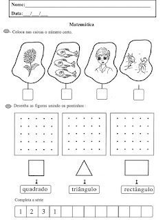 atividades sequencias numericas