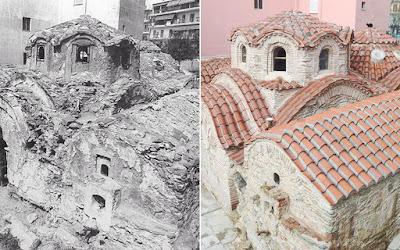 Ένα βυζαντινό λουτρό 800 ετών ανοίγει και πάλι