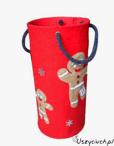 Świąteczna torba prezentowa