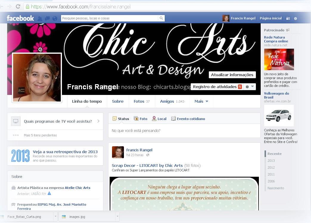 Confira nosso Perfil no Facebook